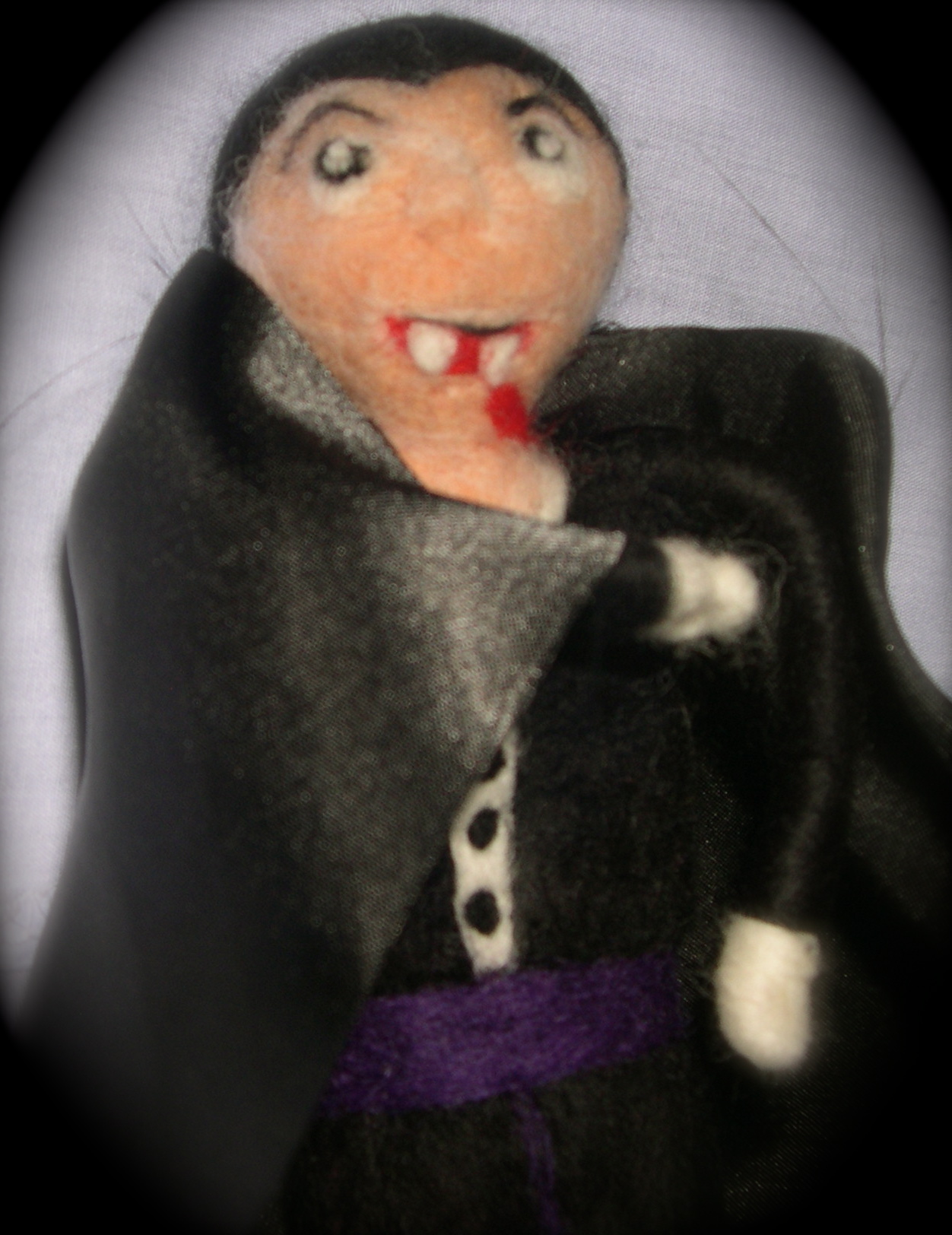 The Count close up