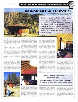 Kootenay Quick Shot article