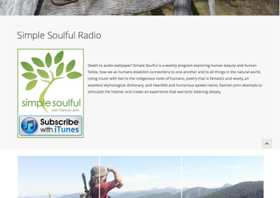 WordPress website redesign for Simple Soulful